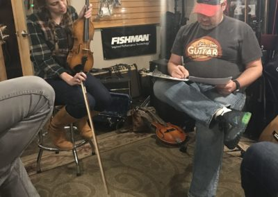 Song Arranging in The Acoustic Shop