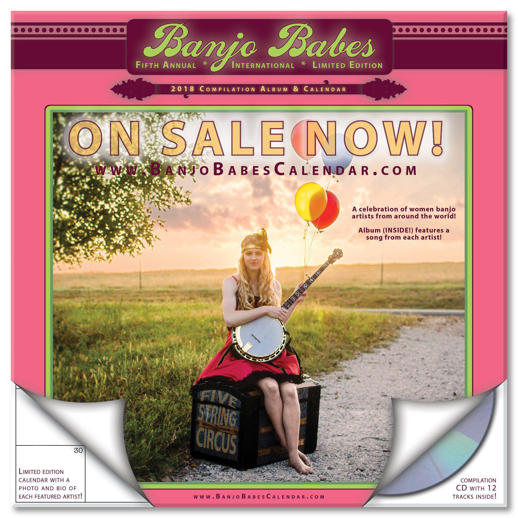 Banjo Babe Calendar