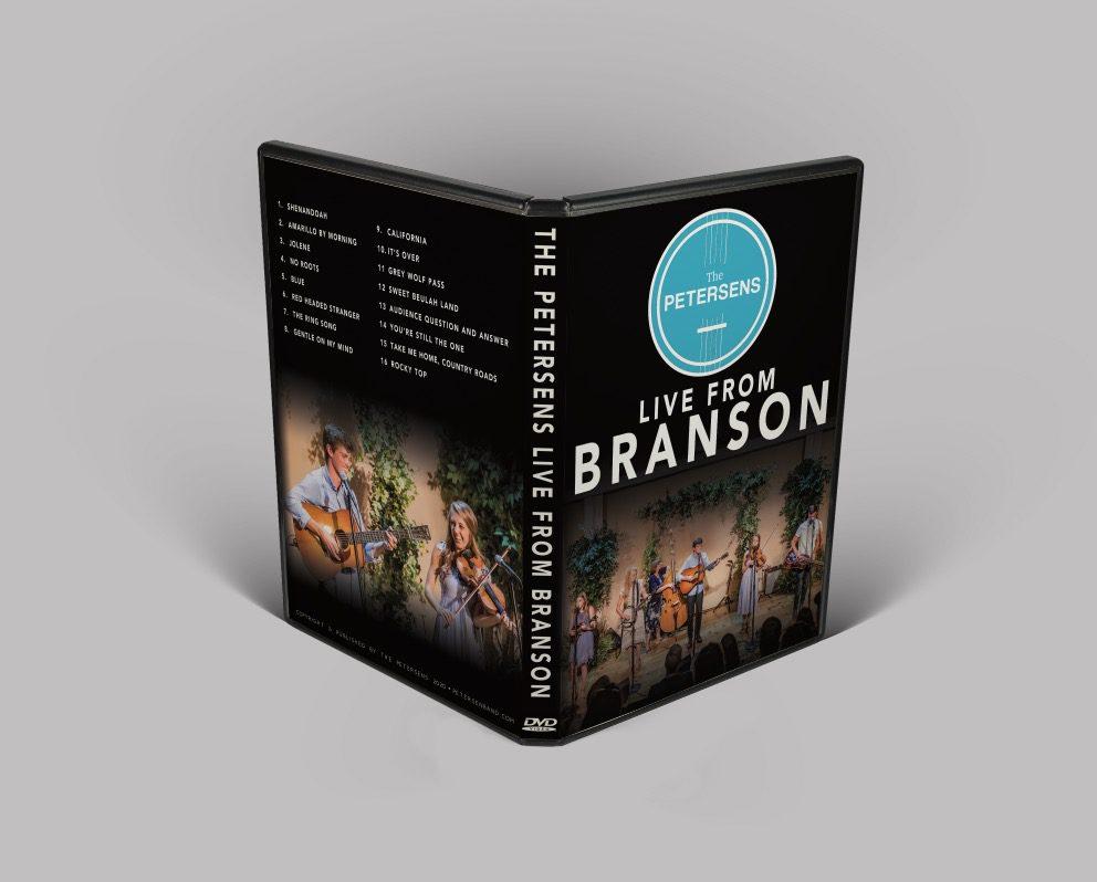 DVD of 2020 Live Branson Show